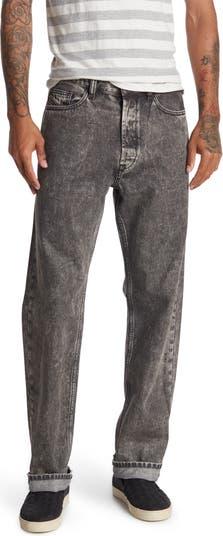 Непринужденные джинсы с прямыми штанинами Diesel
