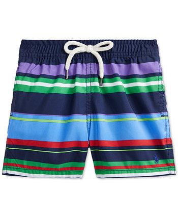 Плавательные шорты в полоску для маленьких мальчиков Ralph Lauren