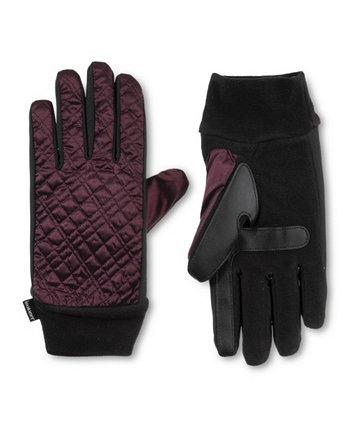 Женские стеганые перчатки Sleekheat Isotoner Signature