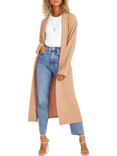 Let's Hang Coat - Slub Knit Duster с поясом BB Dakota X Steve Madden