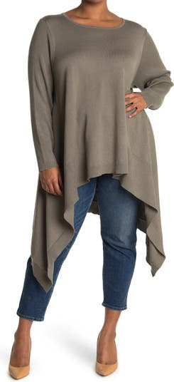 Асимметричный свитер с длинным рукавом Cyrus