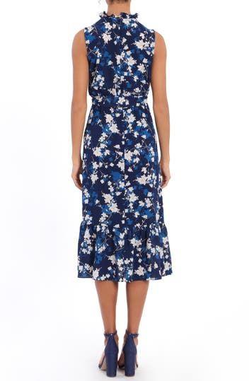 Платье с запахом и оборками Shadow Vine London Times