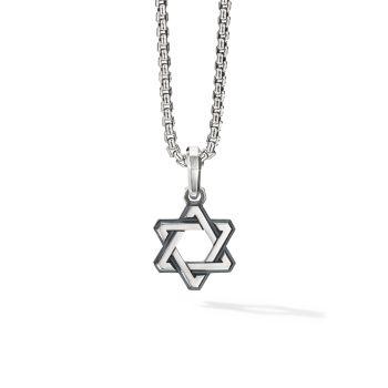 Кулон Deco Star of David из стерлингового серебра David Yurman