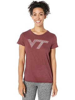 Футболка с надписью Virginia Tech Hokies Fader с надписью '47 College