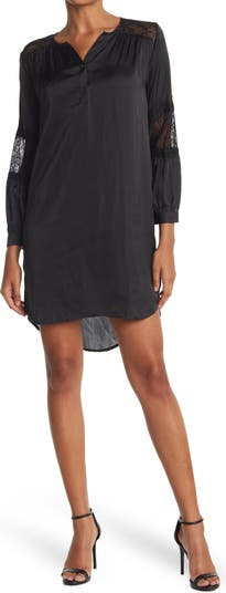 Платье-рубашка с кружевными рукавами 19 Cooper
