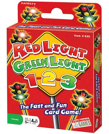 Красный Свет, Зеленый Свет, 1-2-3! Карточная игра Endless Games