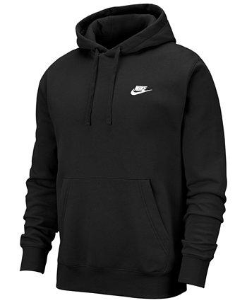 Мужская спортивная одежда Club Fleece Pullover Hoodie Nike