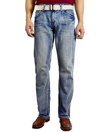 Мужские модные прямые джинсы стандартного кроя Flypaper
