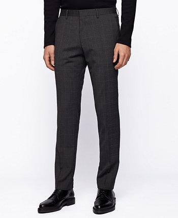 Мужские облегающие брюки BOSS BOSS Hugo Boss