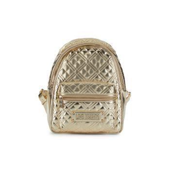 Стеганый металлический рюкзак LOVE Moschino