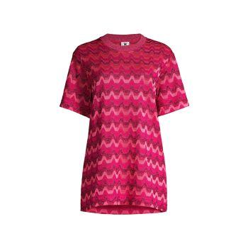 Zigzag Oversized T-Shirt M Missoni
