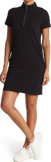 RD STYLE Платье-поло на молнии из пике Cloth By Design