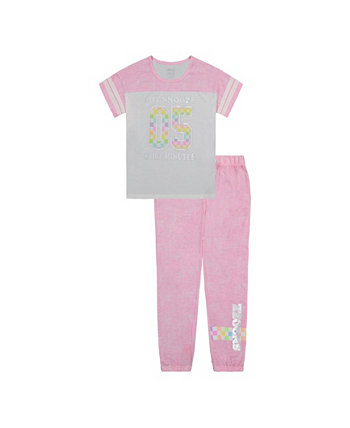 Комплект пижамных штанов для больших девочек, 2 предмета Max & Olivia