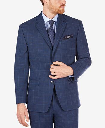 Мужской костюм в клетку Classic-Fit Separate Jacket Sean John