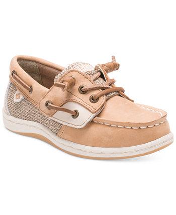 Songfish Jr. Ботинки для лодок, малышей и маленьких девочек Sperry