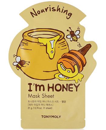 I'm Honey Sheet Mask, 0,74 унции. TONYMOLY