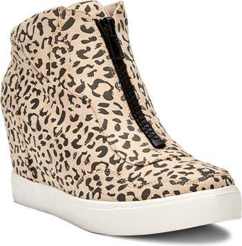 Высокие кроссовки с леопардовым принтом Long Live Coconuts By Matisse