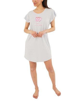 Рубашка для сна и резинки для волос Day Drinker Munki Munki