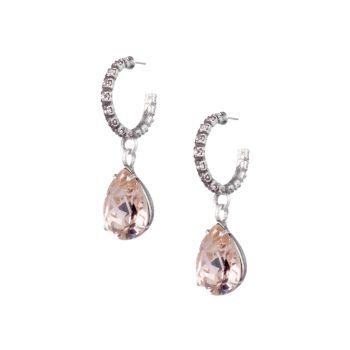 Серьги-капли Danni со стеклянными кристаллами DANNIJO