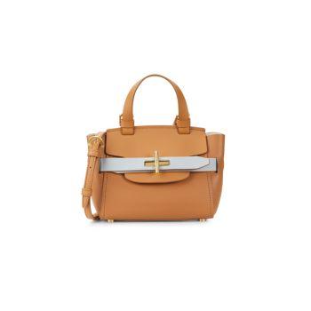 Кожаная сумка через плечо Mini Brigette ZAC Zac Posen