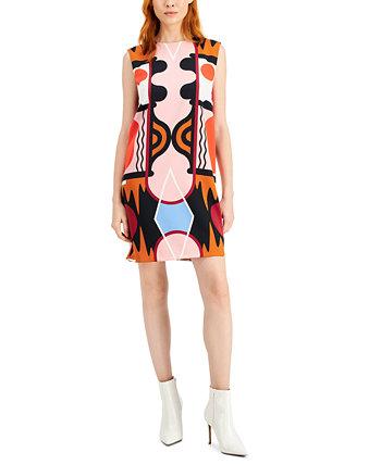Расклешенное платье с принтом Eureka Marella