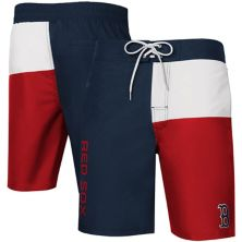 Men's G-III Sports by Carl Banks Navy Boston Red Sox Breeze Swim Trunks G-III