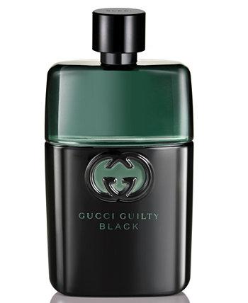 Туалетная вода Guilty Men's Black Pour Homme, 1,6 унции GUCCI