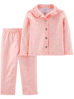Two-Piece Coat Style Pajama Set (Infant/Toddler) Simple Joys by Carter's