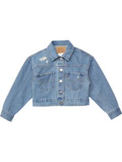 Джинсовая куртка оверсайз с высокой посадкой (для больших детей) Levi's® Kids