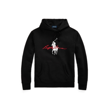 Худи из флиса с логотипом Big Pony Ralph Lauren
