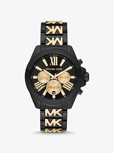 Двухцветные часы Oversized Wren Michael Kors