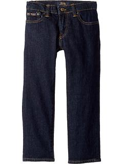 Прямые эластичные джинсы Hampton (для малышей) Ralph Lauren