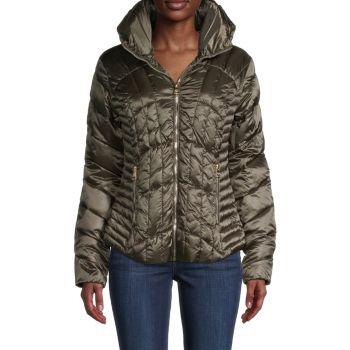 Стеганая куртка-пуховик Karl Lagerfeld Paris