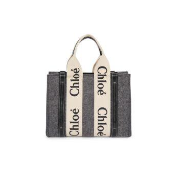 Маленькая фетровая сумка через плечо Woody Chloe