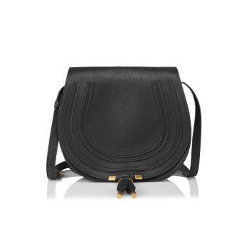 Кожаная седельная сумка Marcie среднего размера Chloe