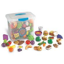 Учебные ресурсы New Sprouts Classroom Play Food Set Learning Resources