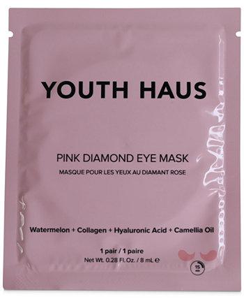 Маска для глаз Youth Haus Pink Diamond Eye Mask, Single Skin Gym