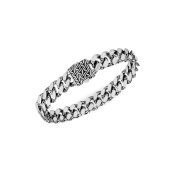Цепной браслет из стерлингового серебра с гравировкой JOHN HARDY