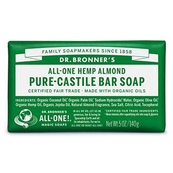 Dr. Bronner's Castille Bar Soap - Almond Dr. Bronner's