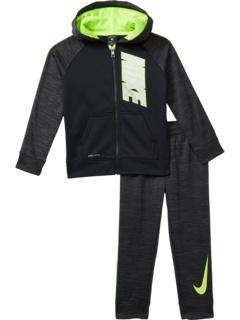 Комплект из двух предметов с капюшоном и брюками на молнии Therma Pop (для маленьких детей) Nike Kids