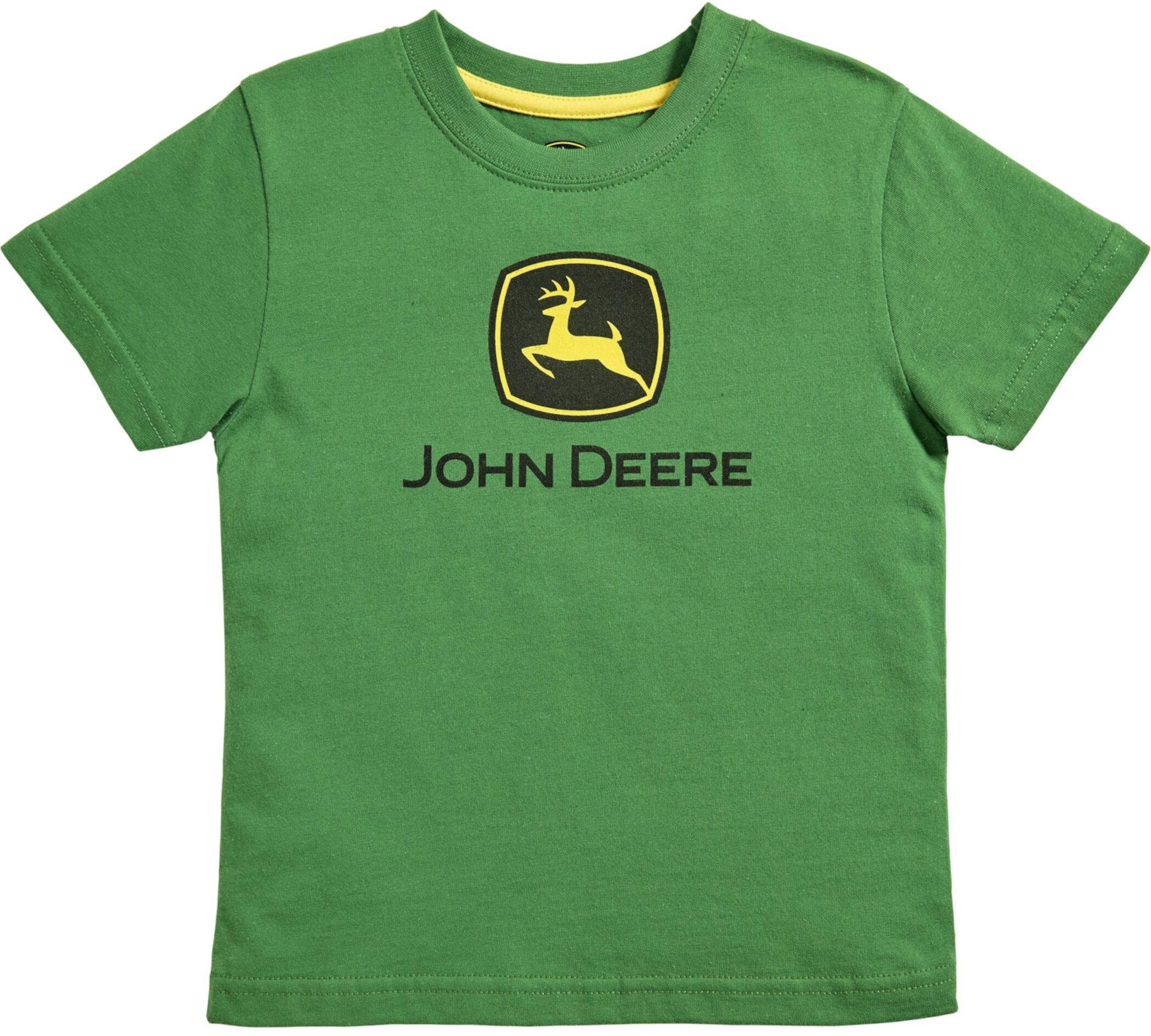 John Deere Kids Boys Trademark Short Sleeve Tee John Deere