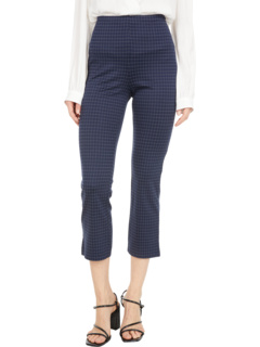 Укороченные брюки в полоску в облегченном понте Lysse