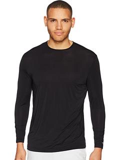 Сверхлегкая рубашка с круглым вырезом и длинным рукавом J Men® Sunsense® с SPF 50 Jamie Sadock