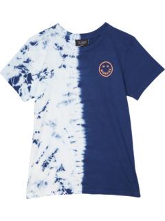 Рубашка с коротким рукавом No Worries с принтом тай-дай (для малышей / маленьких детей / старших детей) Tiny Whales