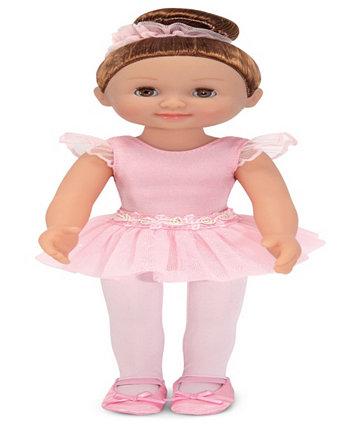 Кукла-балерина Melissa & Doug Victoria, 14 дюймов, трико и пачка Melissa and Doug