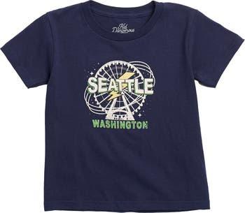 Seattle Ferris Wheel Graphic T-Shirt Kid Dangerous