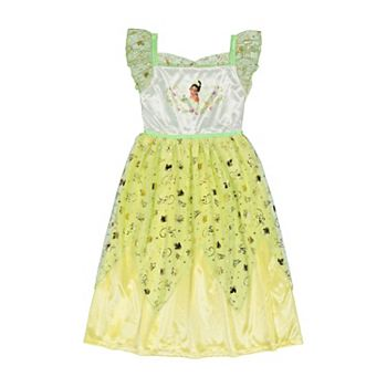 Disney's Tiana Girls 6-8 Fantasy Nightgown Licensed Character