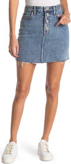 Мини-юбка Reese Crystal на пуговицах GRLFRND