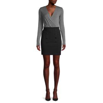 Платье-футляр с длинными рукавами Bailey 44
