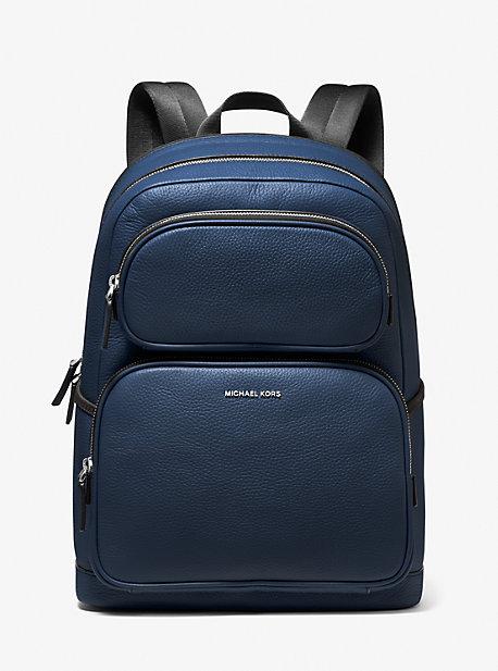 Кожаный рюкзак Cooper из шагреневой кожи Michael Kors